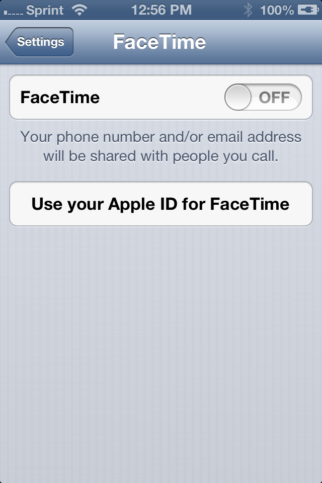 how to deactivate facetime
